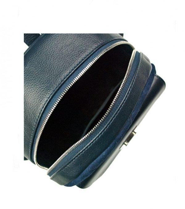 Деловой синий женский рюкзак FBR-2343