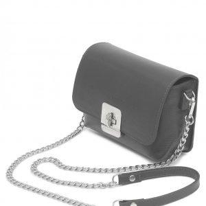 Стильная серая женская сумка FBR-2340