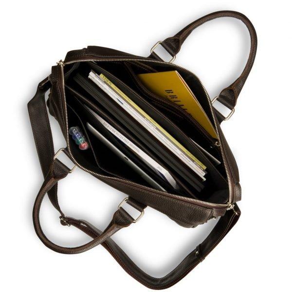 Неповторимая коричневая мужская кожгалантерея BRL-17809