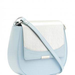 Удобная голубая женская сумка FBR-2508