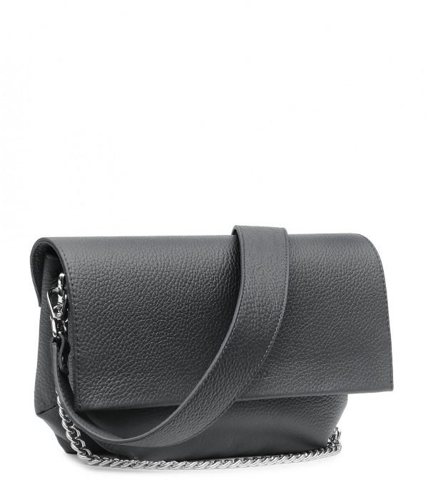 Деловой серый женский клатч FBR-2385