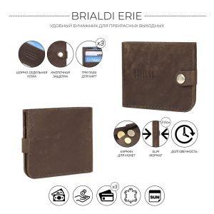 Модная коричневая мужская кожгалантерея BRL-9518 220745