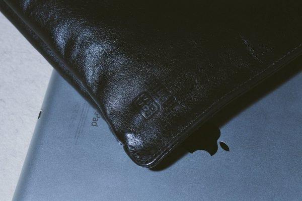 Функциональная черная мужская кожгалантерея BRL-1017