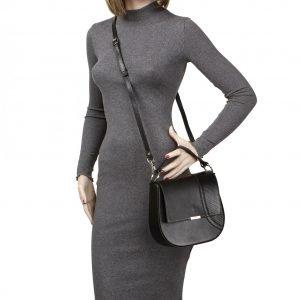 Стильная черная женская сумка FBR-2194 218425