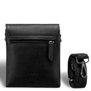 Деловая черная мужская сумка через плечо BRL-19874 221659