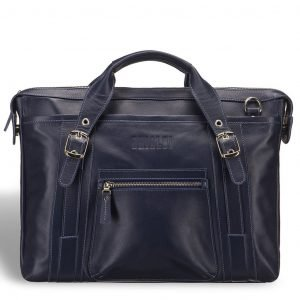 Удобная синяя мужская классическая сумка BRL-7544 220592