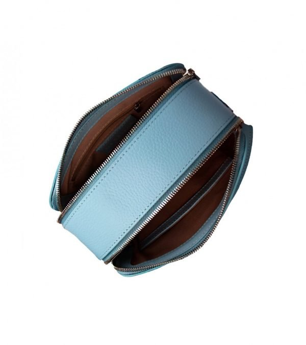Функциональная голубая женская сумка FBR-2473