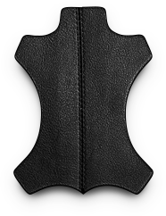 Вместительная черная мужская сумка через плечо BRL-145