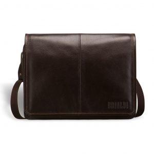 Удобная коричневая мужская сумка через плечо BRL-3172 220294