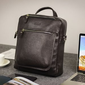 Стильная коричневая мужская сумка через плечо BRL-33395 222974