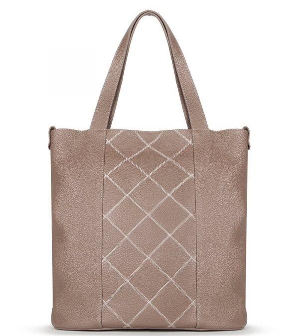 Неповторимая бежевая женская сумка FBR-878