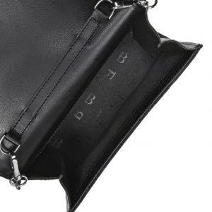 Солидный черный женский клатч FBR-1841