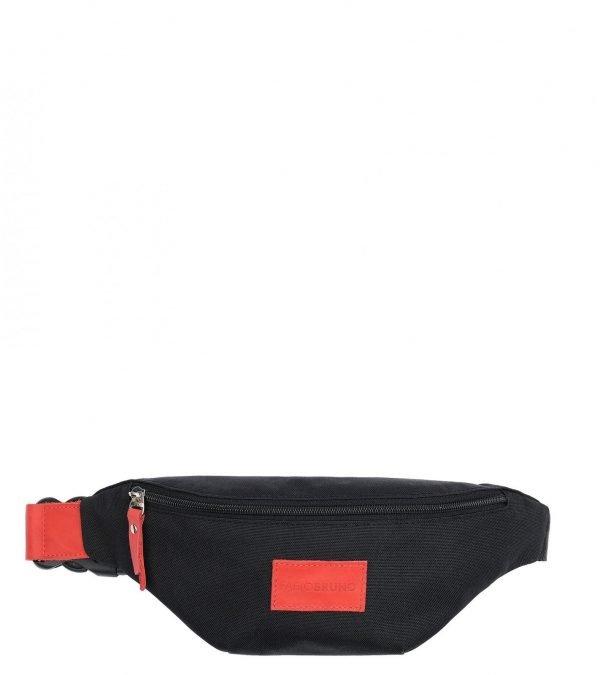 Уникальная черная женская поясная сумка FBR-2527