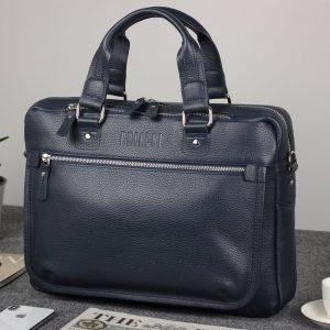 Функциональный синий мужской портфель деловой BRL-34108 223175