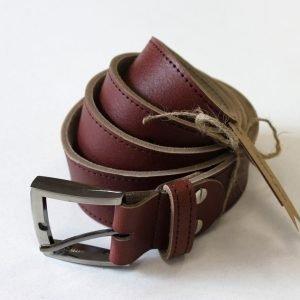 Стильный коричневый ремень BNZ-3364