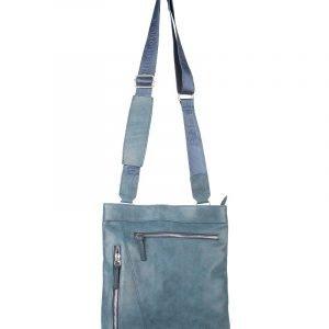 Модная синяя мужская сумка через плечо FBR-547