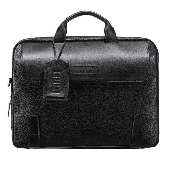 Модная черная мужская классическая сумка BRL-194