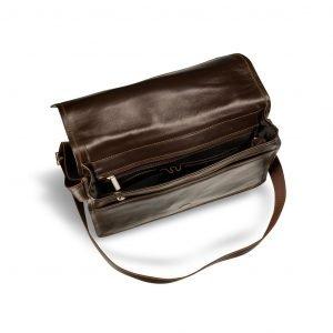 Удобная коричневая мужская сумка через плечо BRL-3172 220296