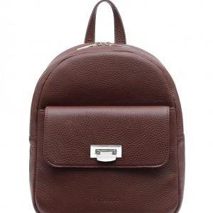 Функциональный бордовый женский рюкзак FBR-2387