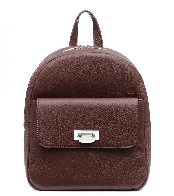 Солидный бордовый женский рюкзак FBR-2387