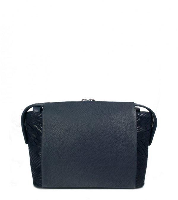 Удобная синяя женская сумка через плечо FBR-2599