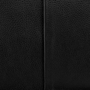 Стильная черная мужская кожгалантерея BRL-17808
