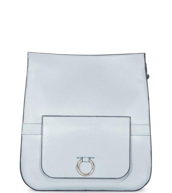 Уникальная голубая женская сумка FBR-1231