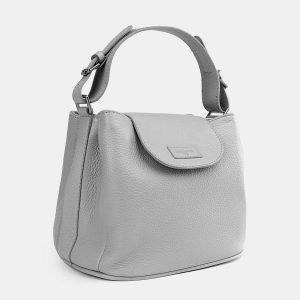 Функциональная серая женская сумка ATS-3746