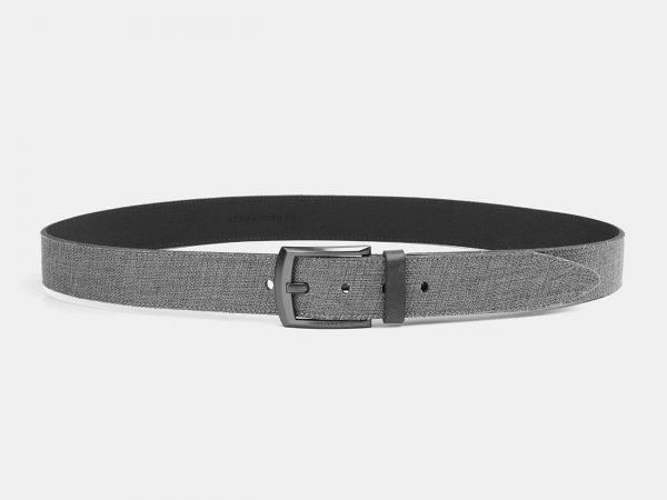 Модный серый мужской джинсовый ремень ATS-3941