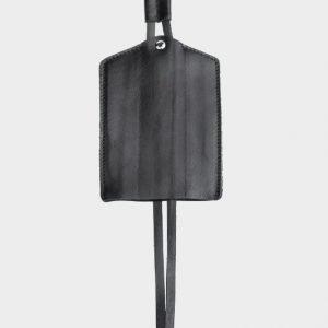 Кожаная черная ключница ATS-116 217635