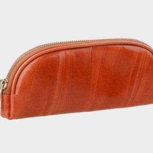 Модная оранжевая косметичка ATS-347