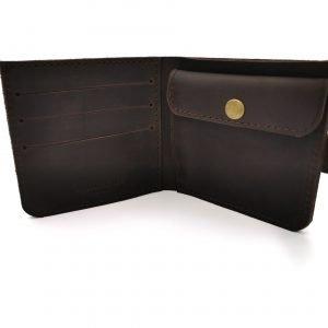 Модный коричневый кошелек BNZ-3685 219237