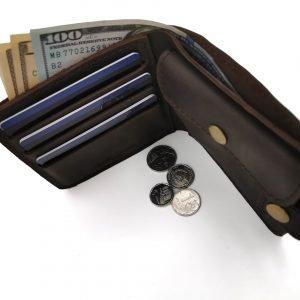 Модный коричневый кошелек BNZ-3685 219245