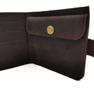 Модный коричневый кошелек BNZ-3685 219239