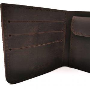 Модный коричневый кошелек BNZ-3685 219238