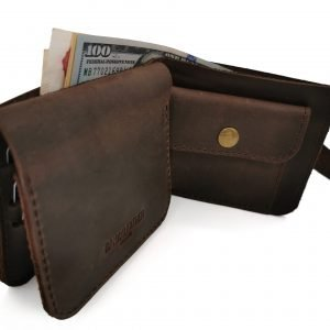 Удобный коричневый кошелек BNZ-2302
