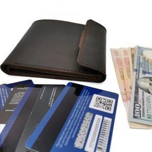 Неповторимый коричневый кошелек BNZ-253 219655