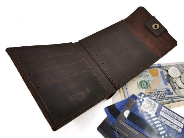 Неповторимый коричневый кошелек BNZ-253