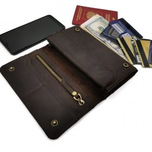 Кожаный кошелек BNZ-326