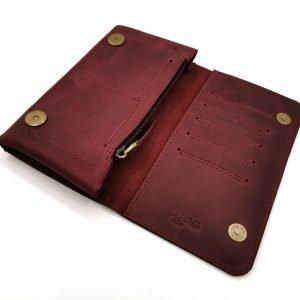 Модный красный кошелек BNZ-313 219634