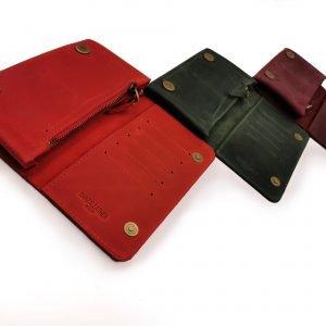 Модный красный кошелек BNZ-313 219639