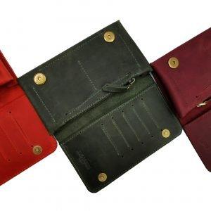 Модный красный кошелек BNZ-313 219640