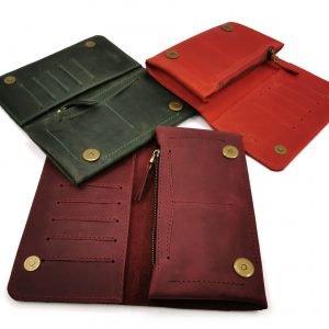 Модный красный кошелек BNZ-313 219641
