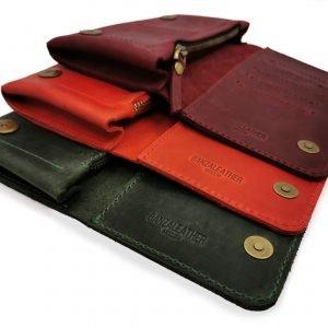 Модный красный кошелек BNZ-313 219642