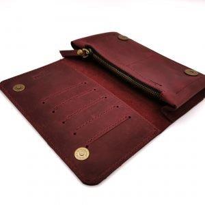 Модный красный кошелек BNZ-313 219635