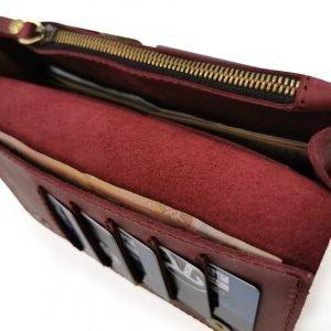 Модный красный кошелек BNZ-313 219637