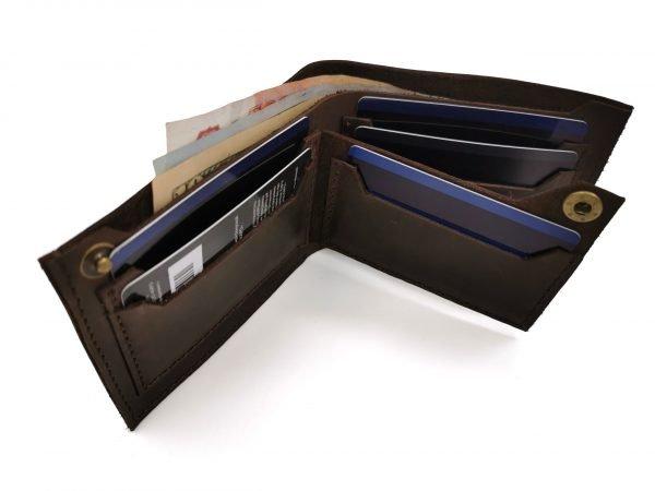 Модный черный кошелек BNZ-3481