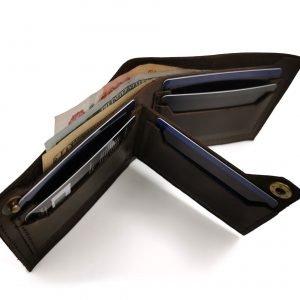 Модный черный кошелек BNZ-3481 219285