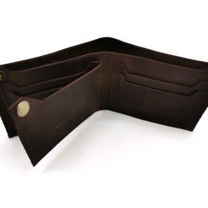 Модный черный кошелек BNZ-3481 219282