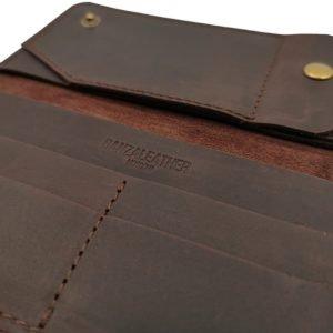 Удобный зеленый кошелек BNZ-3723 219223